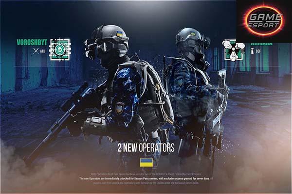 หลุดข้อมูล 2 Operators ตัวใหม่ที่จะเข้าใน Year 5 Season 3, 4 นี้ Esport แข่งDota2 แข่งPubg แข่งROV RainbowSixSiege